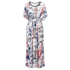 Dresses & Skirts - COMING SOON Navy Tie-Dye Belted Caftan Size 6-24